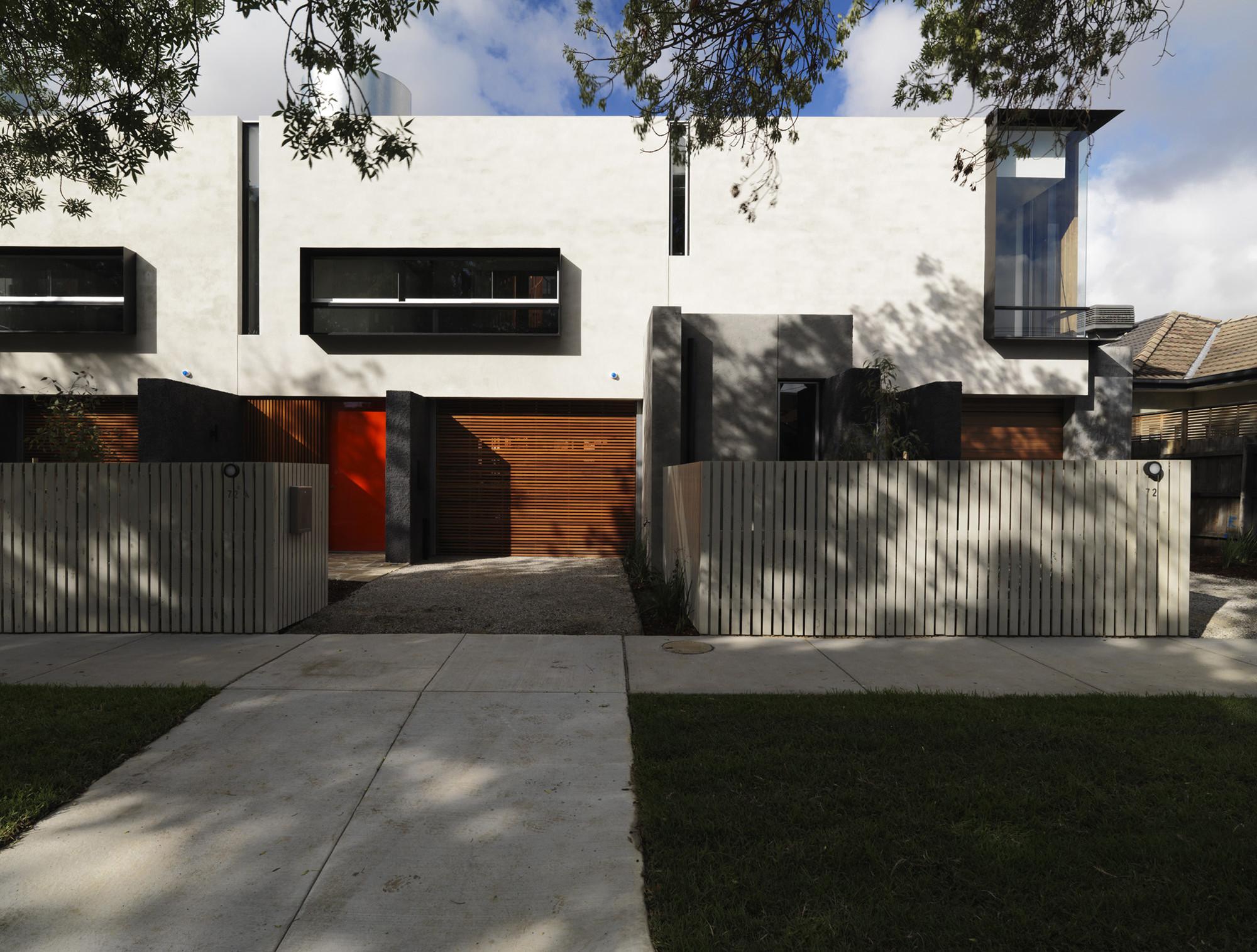 Elwood Townhouses / McAllister Alcock Architects, © Trevor Mein