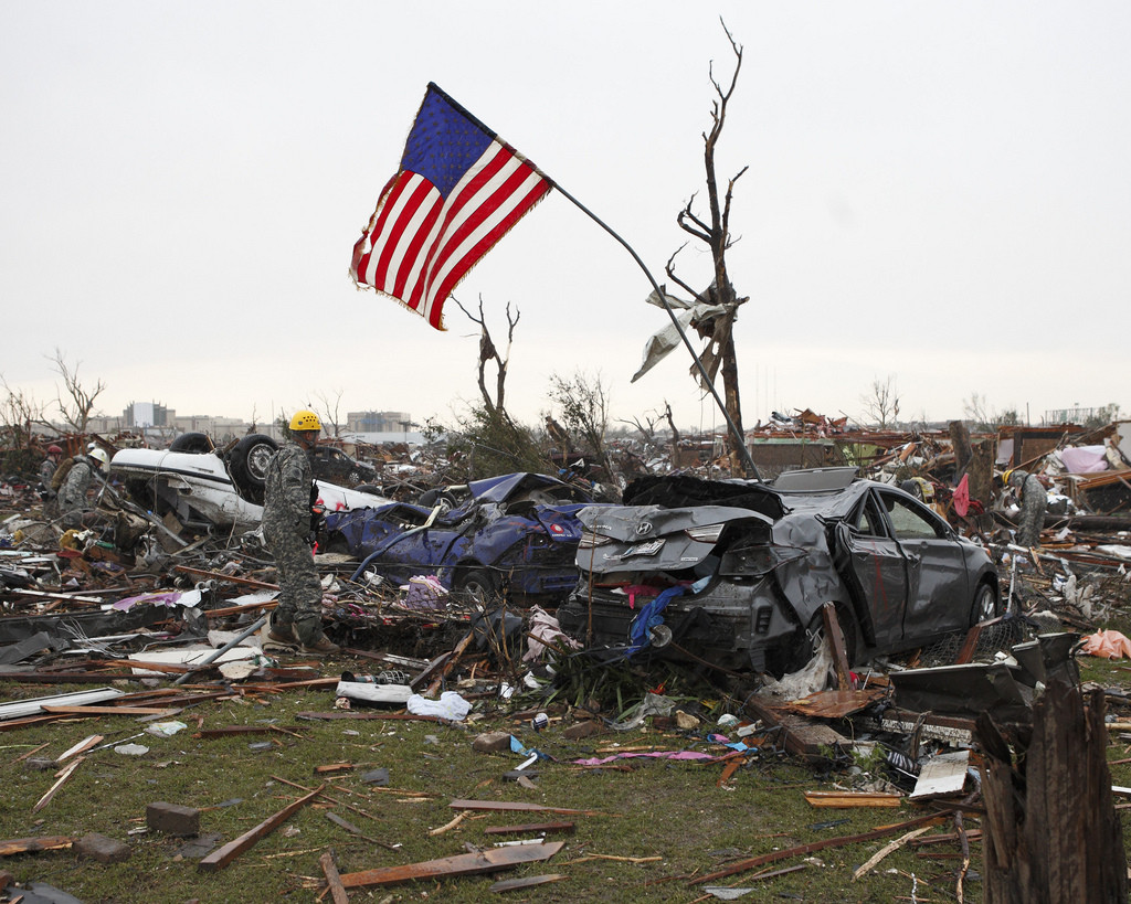 Help Rebuild Moore, © Oklahoma National Guard