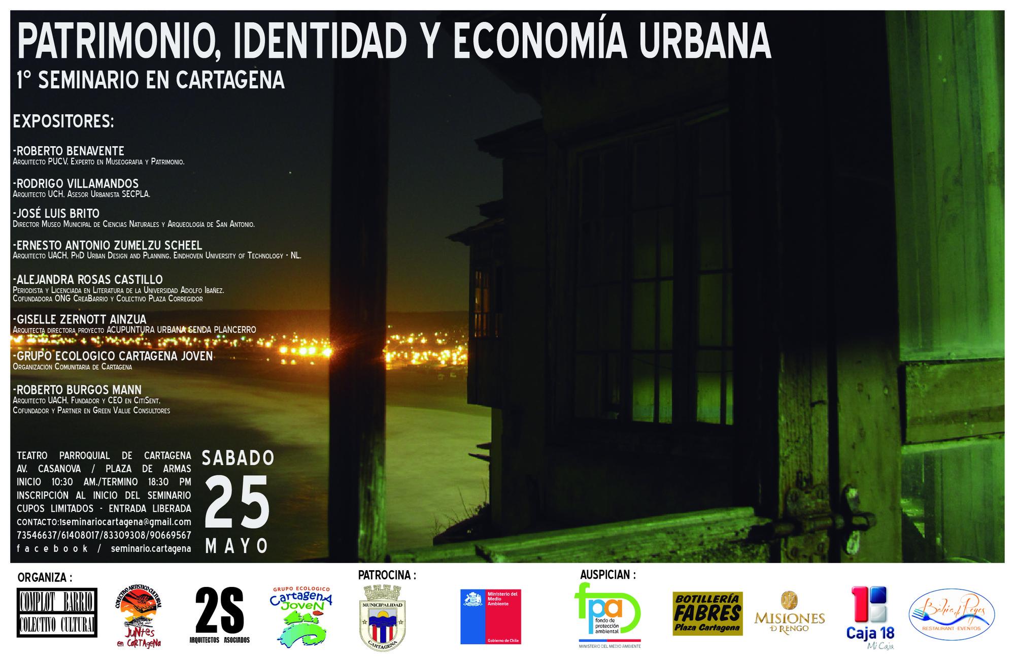 Seminario Patrimonio e Identidad Urbana en Cartagena