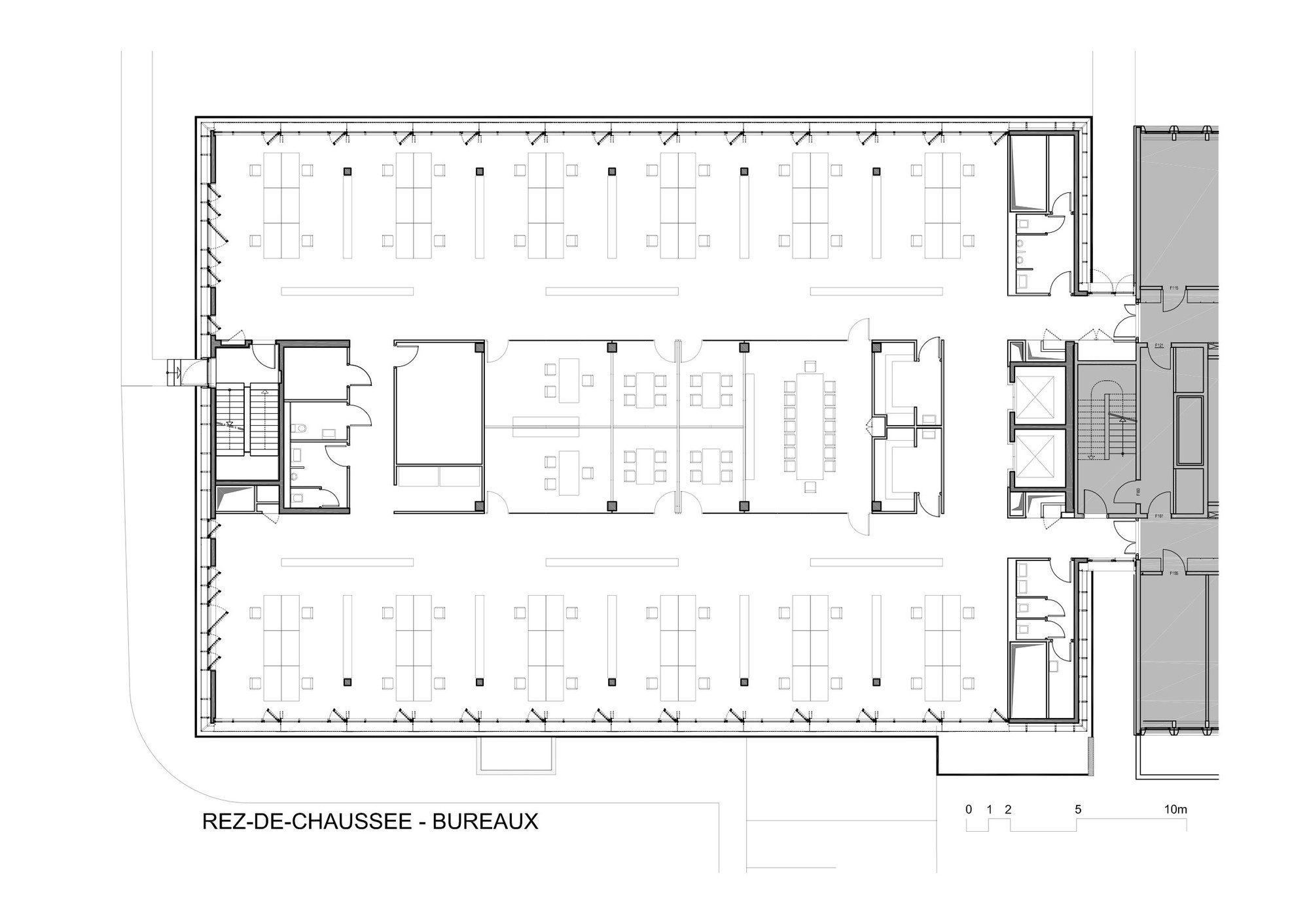Gallery of extension nestle research center burckhardt Program for floor plans
