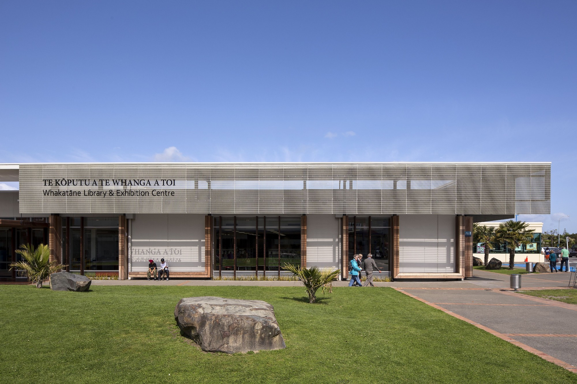 Whakatane Library & Exhibition Centre, by Irving Smith Jack Architects / © Patrick Reynolds
