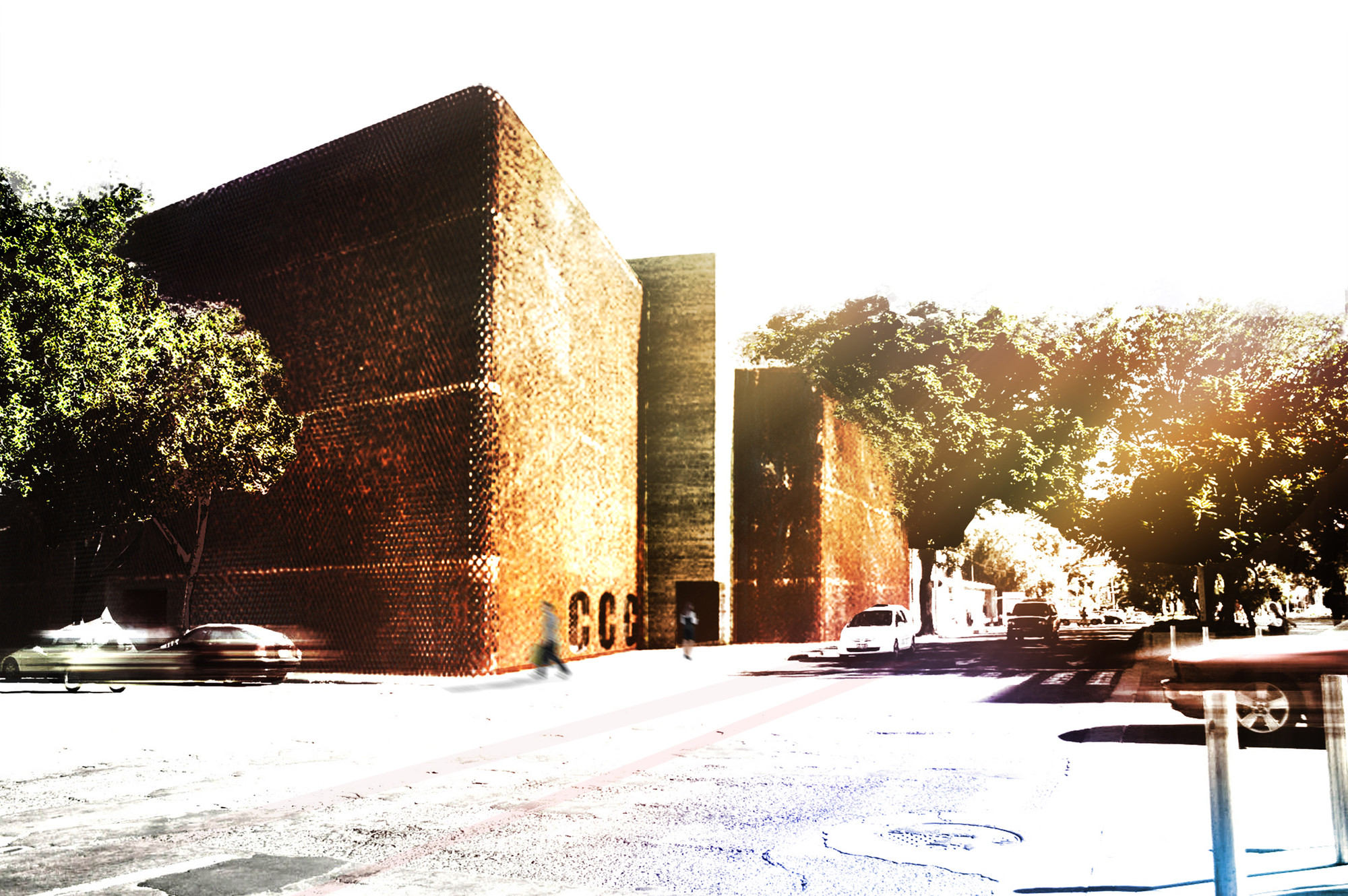 Cultural Center in Guadalajara Competition Entry / K+P Architects, Courtesy of K+P Architects