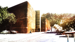 Cultural Center in Guadalajara Competition Entry / K+P Architects