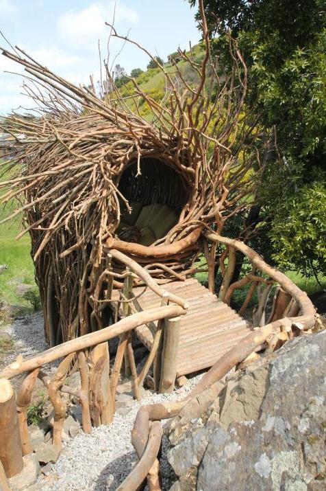 Los increíbles nidos a gran escala de Jayson Fann: inspirados por las aves, construidos para los humanos, © Jayson Fann