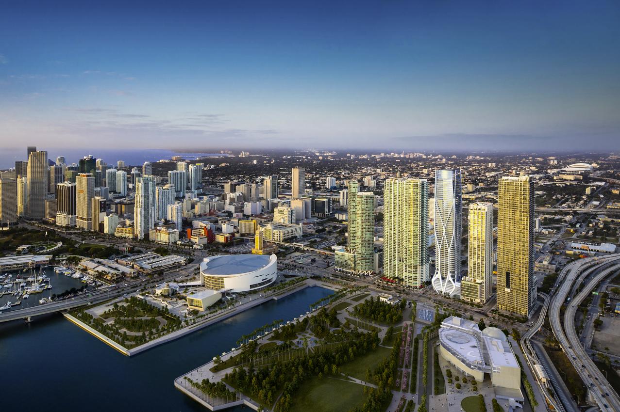 Revelan imagenes del One Thousand Museum Tower de Zaha Hadid en Miami, © ZHA