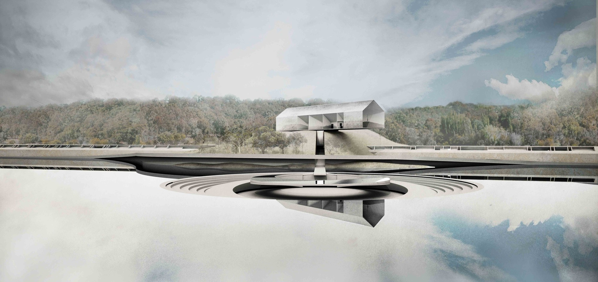 'The Lodge on the Lake' Competition Entry / Other Architects, Courtesy of Other Architects