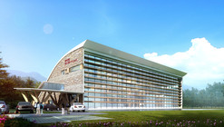 Changbaishan Exhibition Hall Winning Proposal / ZNA