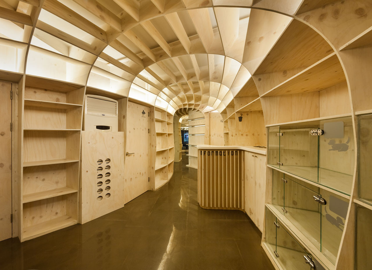 Gallery of a animal hospital jhy architect associates 6 for Architect associates