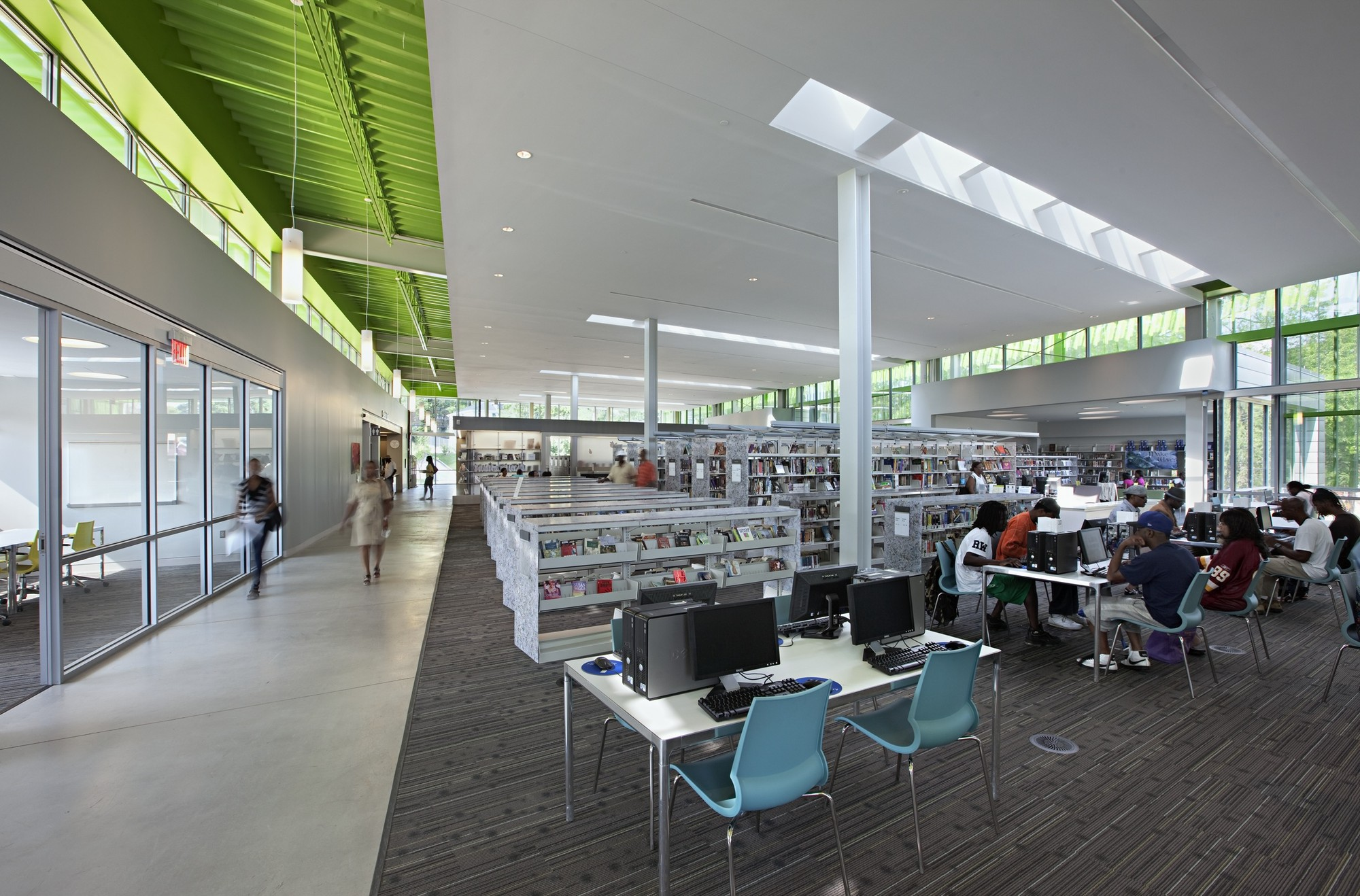 Anacostia Neighborhood Library; Washington, D.C. / The Freelon Group © Mark Herboth Photography