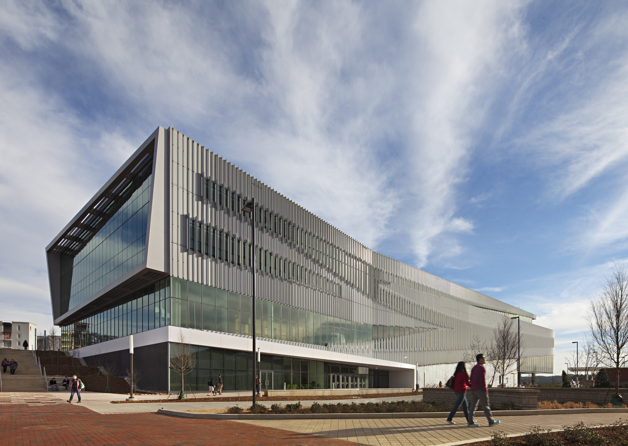 James B. Hunt Jr. Library; Raleigh, North Carolina / Snøhetta and Pearce Brinkley Cease + Lee © Mark Herboth