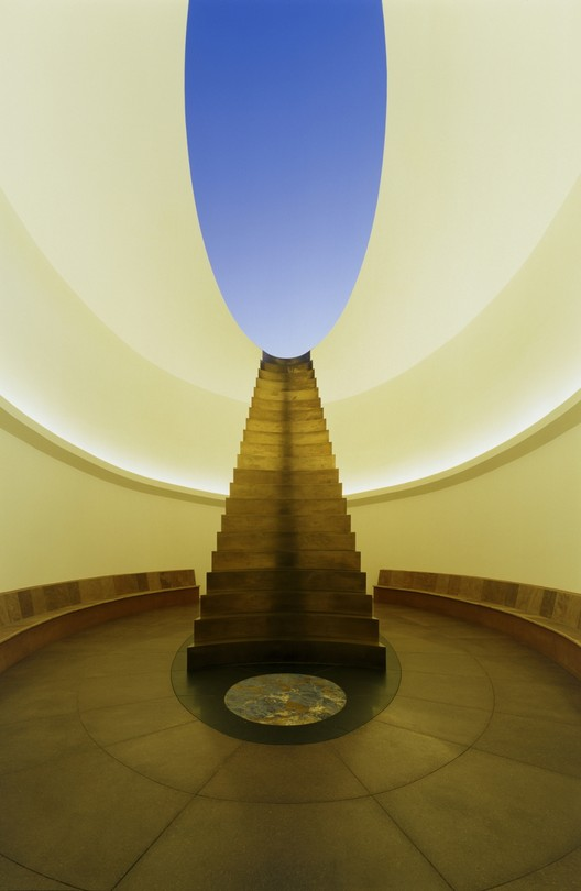 James Turrell: Roden Crater, East Portal. 2010. Photograph by Florian Holzherr, www.architekturfoto.net