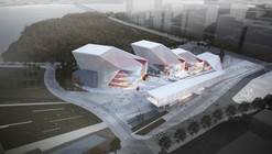 Sejong Art Center Competition Entry / H Architecture + Haeahn Architecture