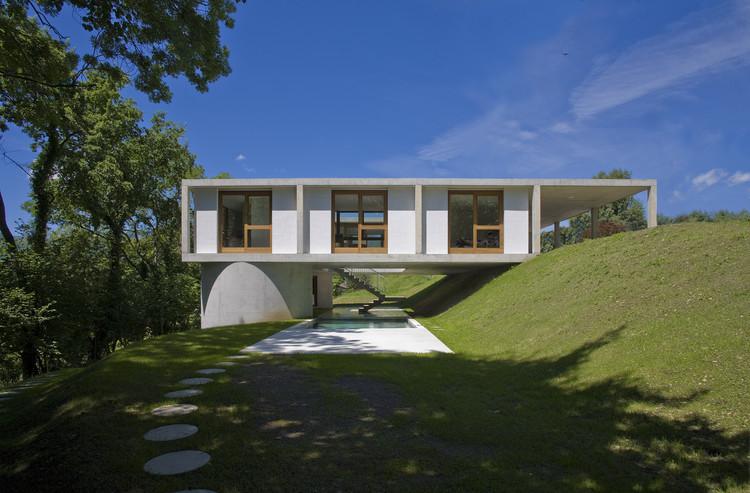 Vivienda en Sonvico / Architetti Pedrozzi & Diaz Saravia, © Pino Brioschi