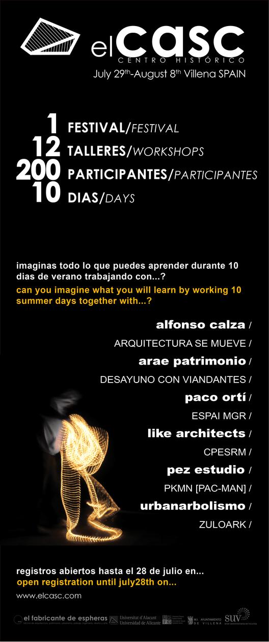 elCasc - Certamen de Activación Socio-Cultural / España, Courtesy of elCasc