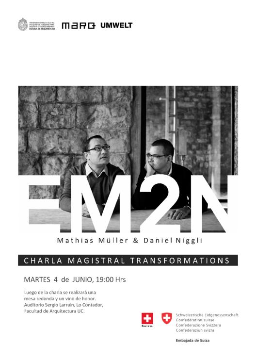 Charla Magistral de EM2N en su primera visita a Chile , Courtesy of MARQ