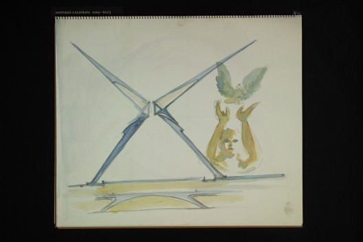 Concepto: Centro de transporte WTC / Cortesía de Santiago Calatrava, LLC