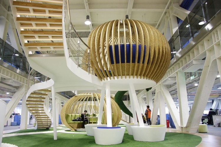 Oficina 360 Qihoo HQ / edg Corporation Ltd., © David Ho