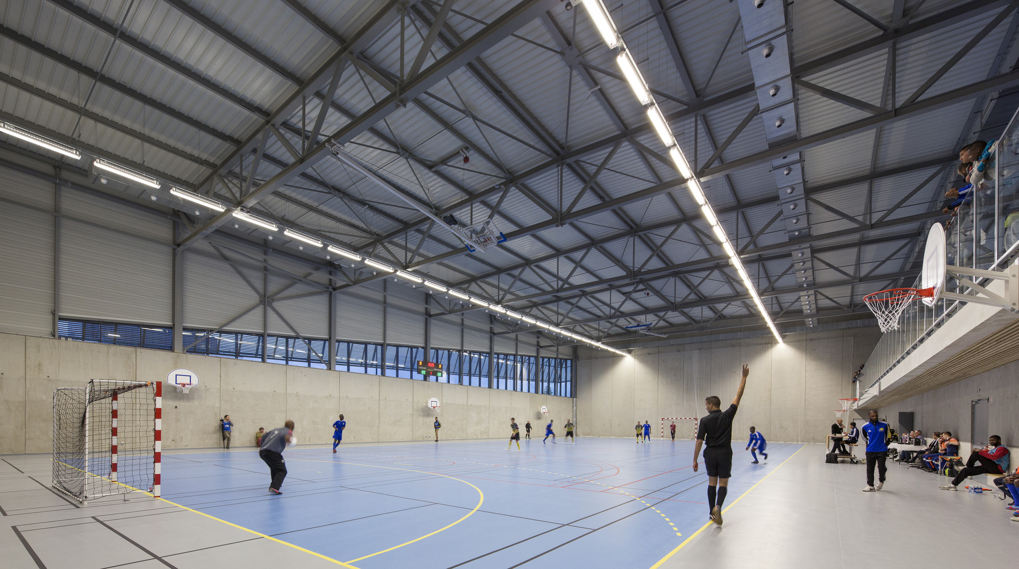 Gallery of janine jambu sports centre nomade architects 9 for Architecture nomade