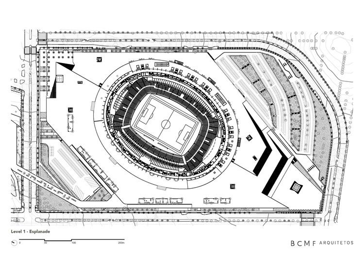 mineir 227 o stadium bcmf arquitetos archdaily