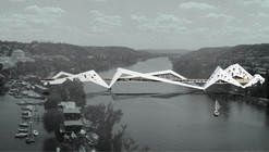 'Prague: Bridge-Building over the Vltava River' Competition Entry / Juráš Lasovský