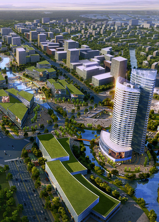 'Shenyang International Automobile City' Winning Proposal / SBA International, Courtesy of SBA International