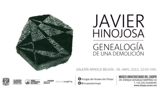 Exposición Genealogía de una demolición / Javier Hinojosa