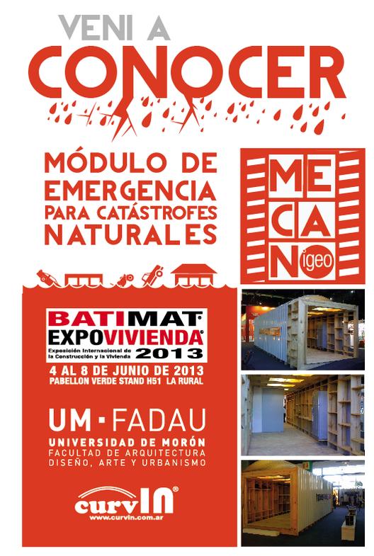 Expo Vivienda 2013: Módulo de Emergencia para Catástrofes Naturales