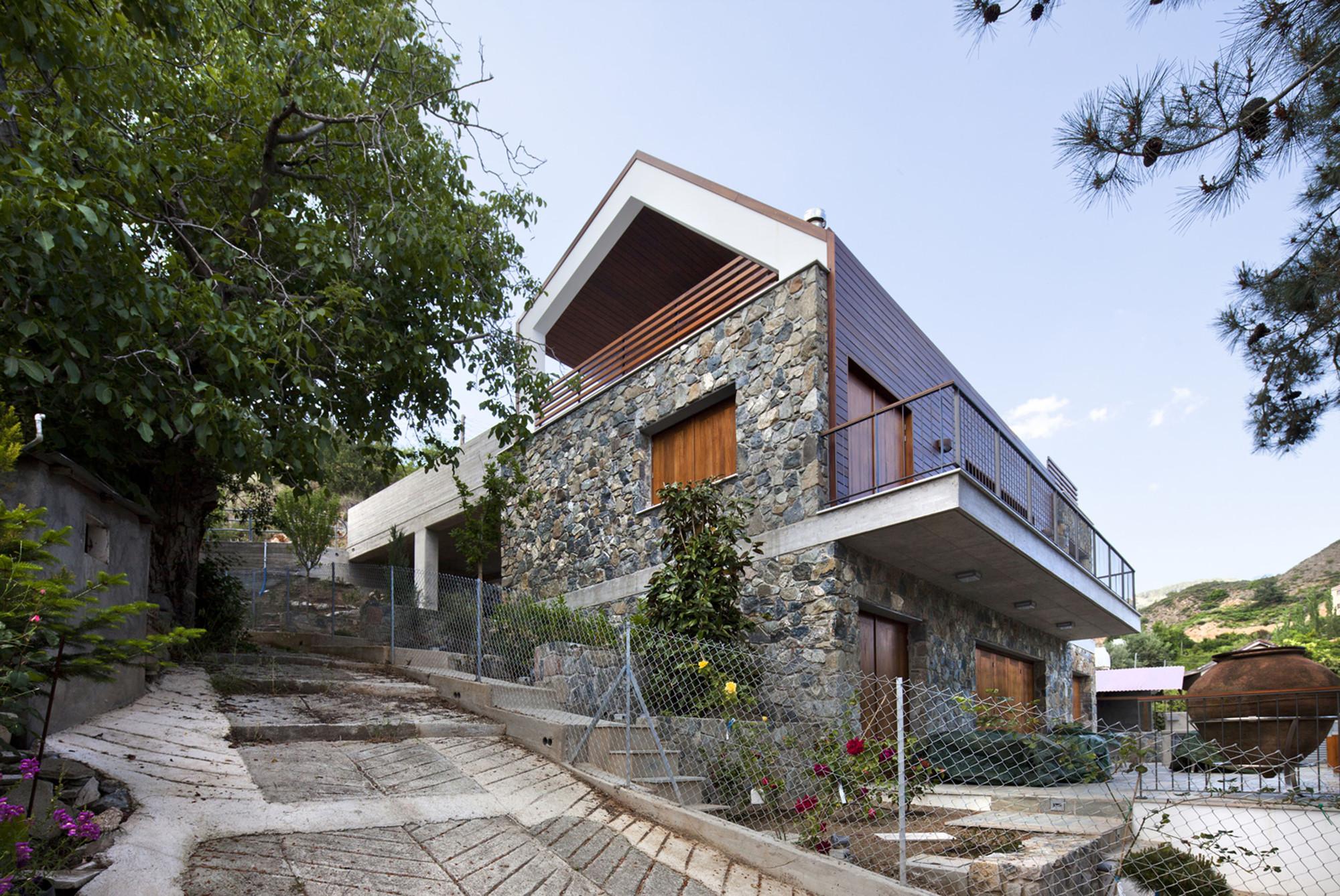 Serafides House / VARDAstudio, © Maria Efthymiou
