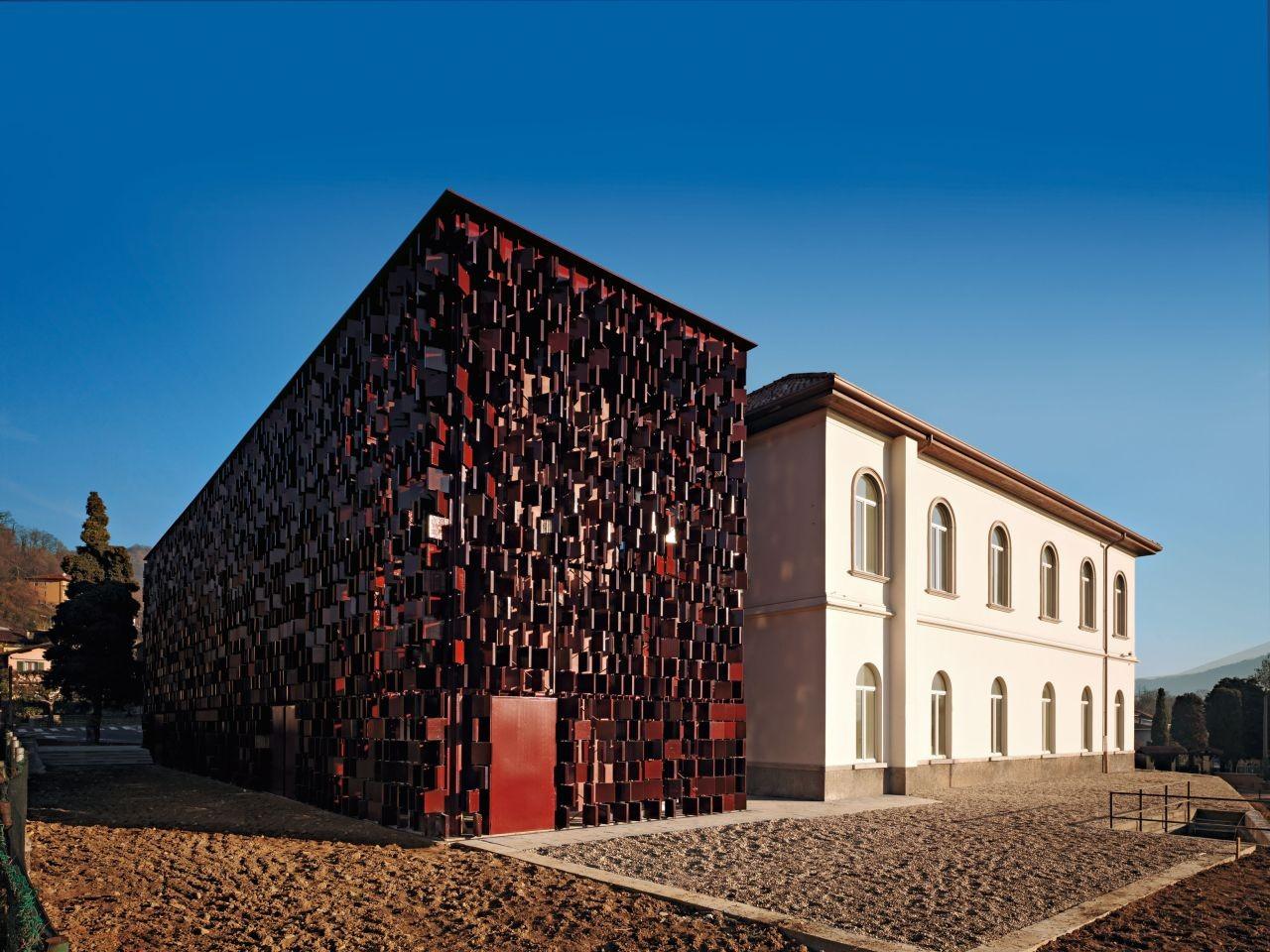 Nembro Library / Archea, © Pietro Savorelli