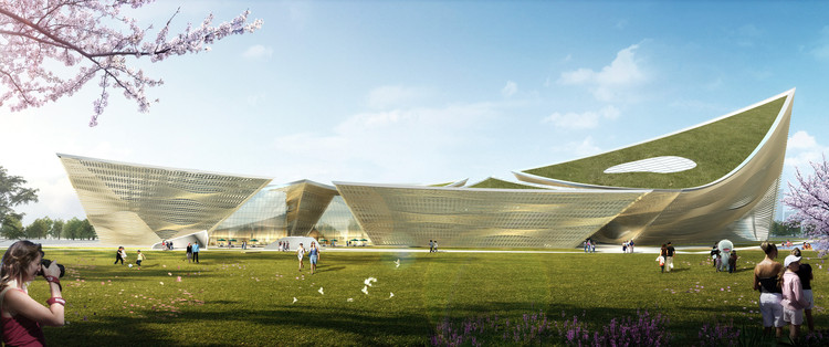 City Cultural Center Competition Entry / TheeAe LTD., Courtesy of TheeAe LTD.