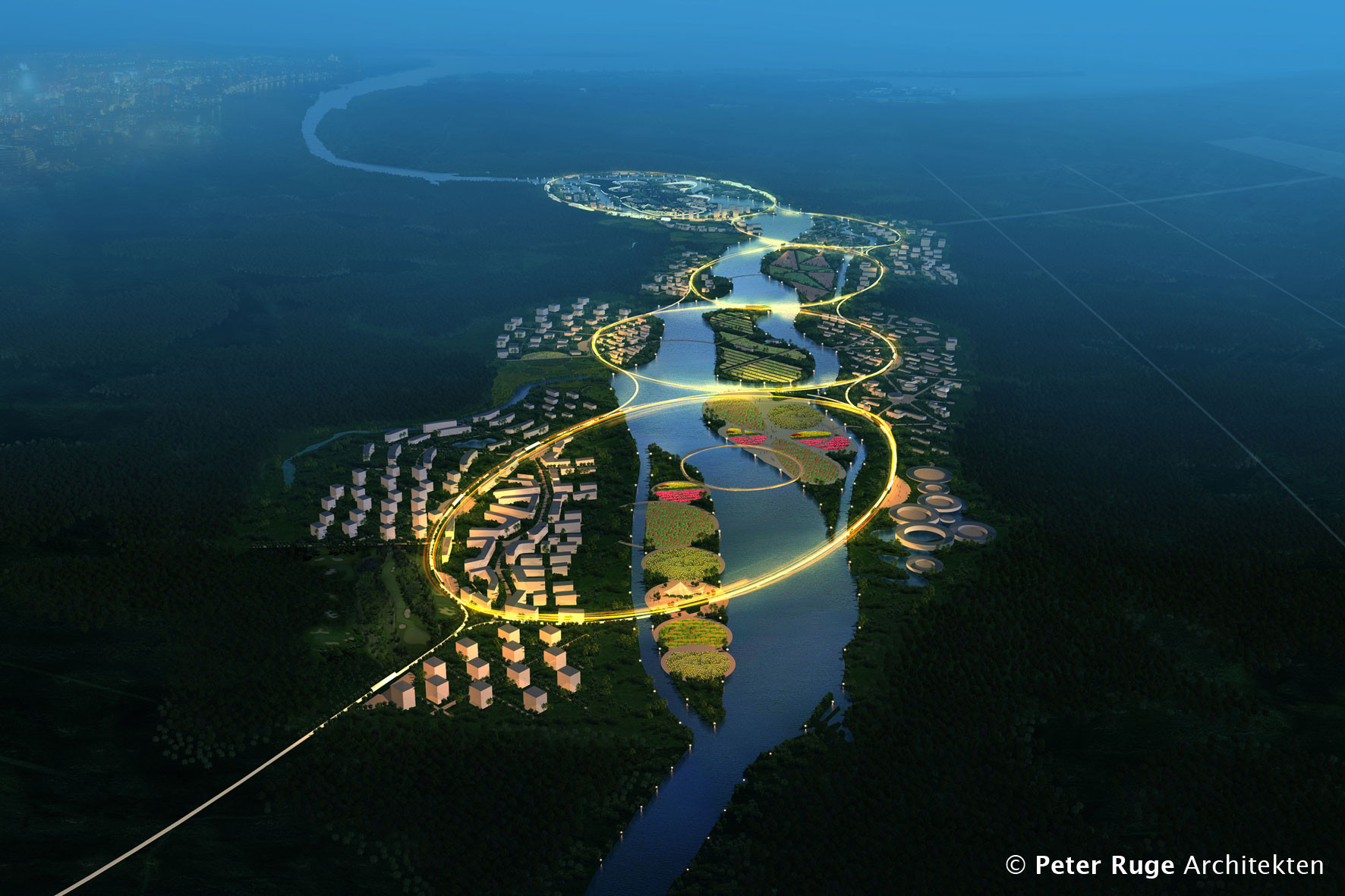 Green Health City Proposal / Peter Ruge Architekten, Courtesy of Peter Ruge Architekten