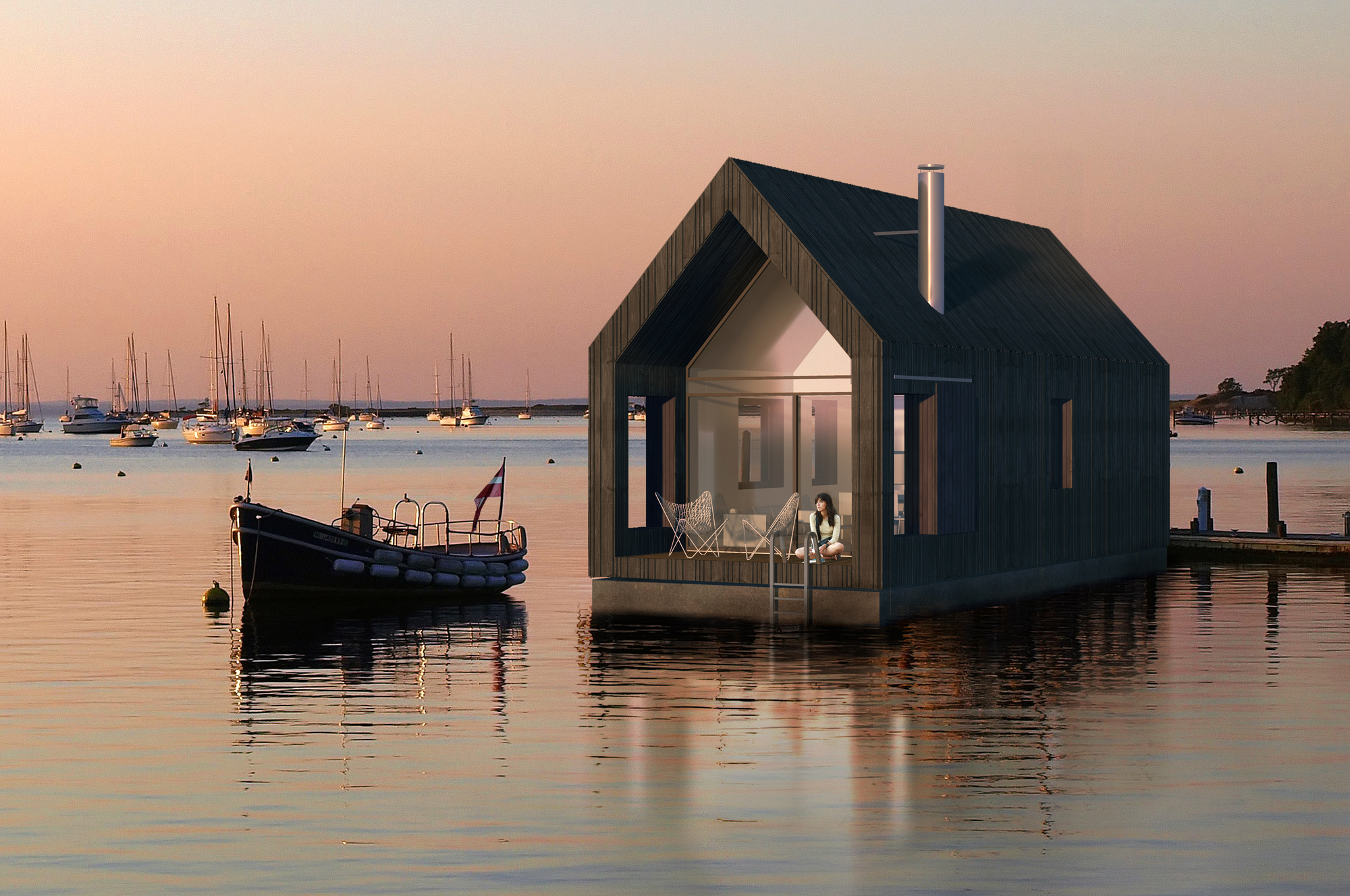 Project proposal floating house