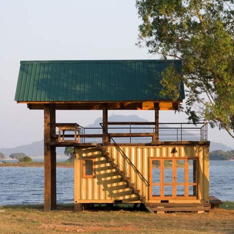 Cabaña en Maduru Oya / Damith Premathilake, © Logan MacDougall Pope