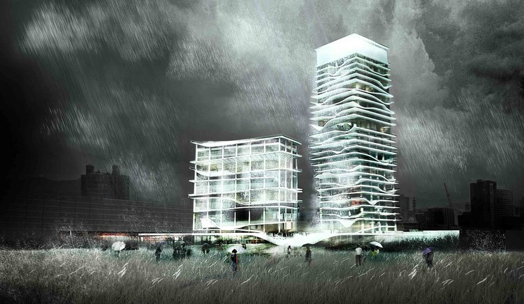 City Cultural Center Competition Entry / KAMJZ Architects, Courtesy of KAMJZ Architects