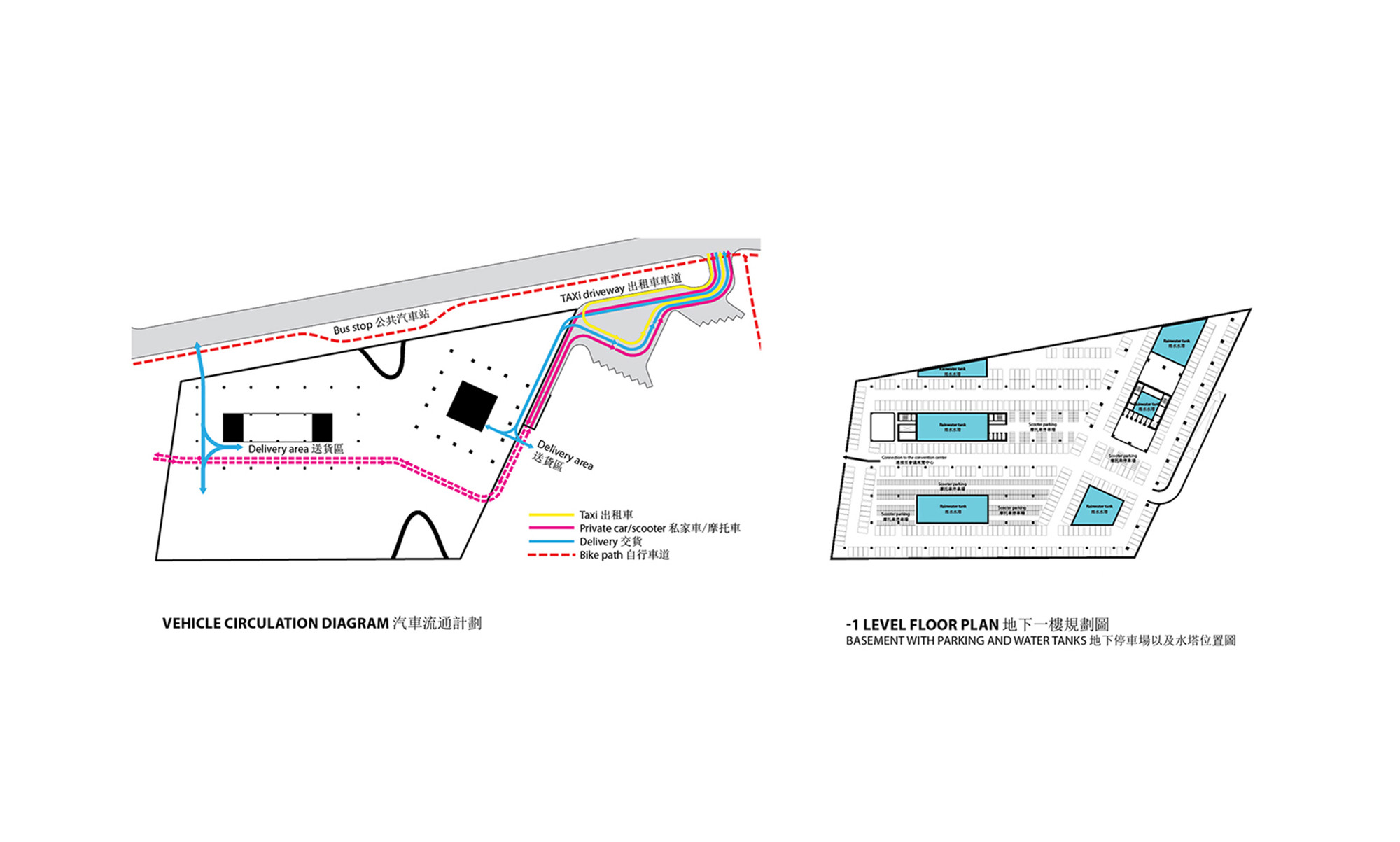 Gallery of city cultural center competition entry kamjz for Magento 2 architecture diagram