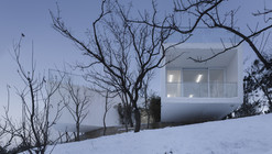 Viewing Pavilion on Hill / TAO - Trace Architecture Office