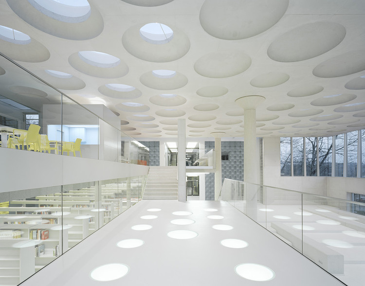 Forum at the Eckenberg Academy / Ecker Architekten, © Brigida Gonzalez