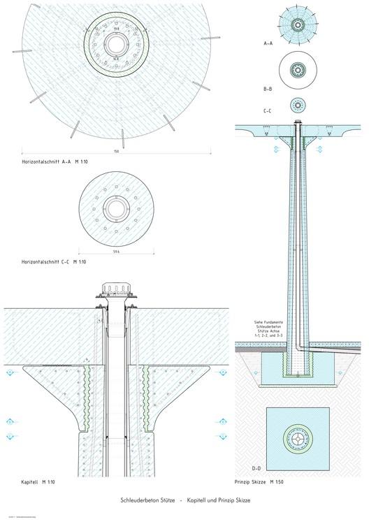Detalles columnas concreto