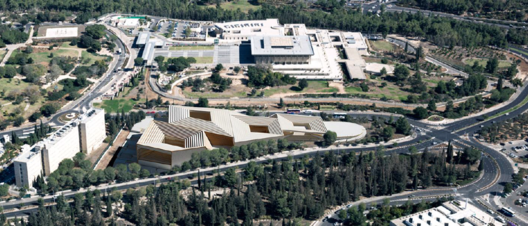 Segal's proposal for the National Library of Israel