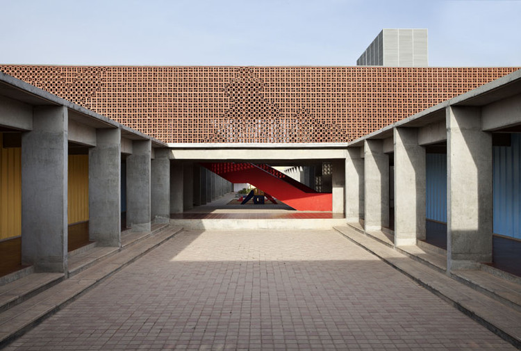 Dps kindergarden school khosla associates archdaily for Architecture design for home in mysore