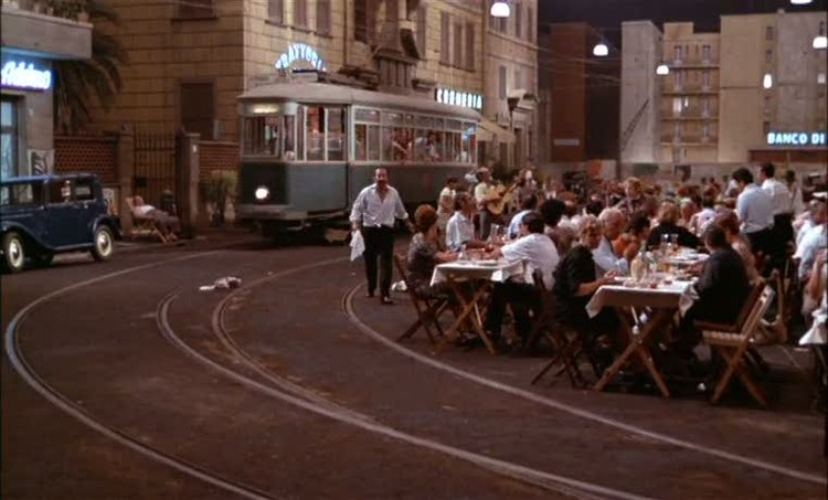 "Cine y Arquitectura: ""La Roma de Fellini"""