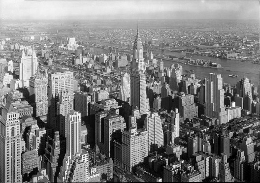 The Chrysler Building, c. 1930. Image Courtesy of New York Architecture