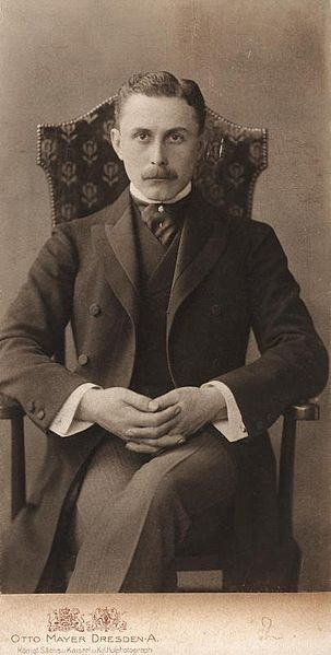 Adolf Loos. Image Courtesy of Wikimedia Commons User Österreichische Nationalbibliothek, Bildarchiv Austria, Inventarnr