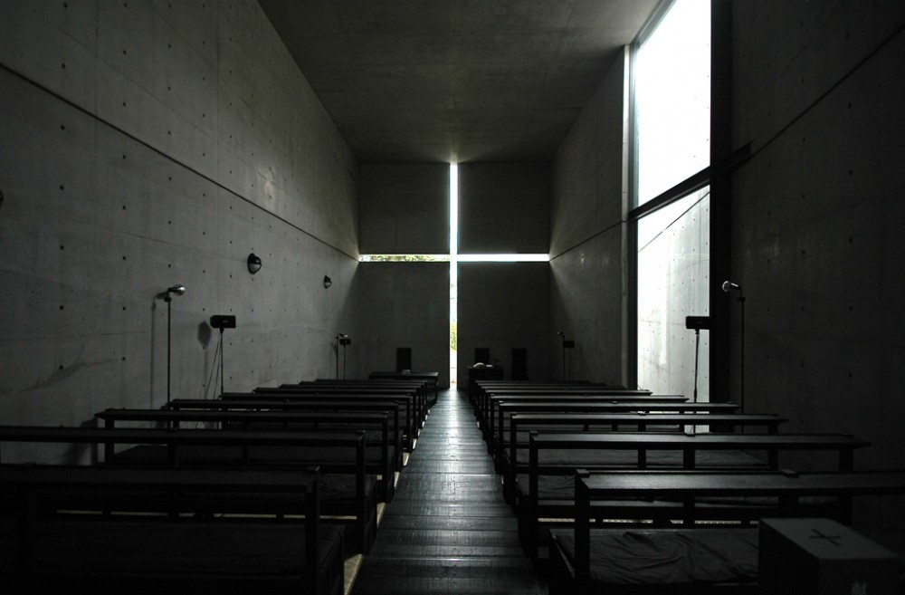 Church of Light / Tadao Ando; Photo © Buou