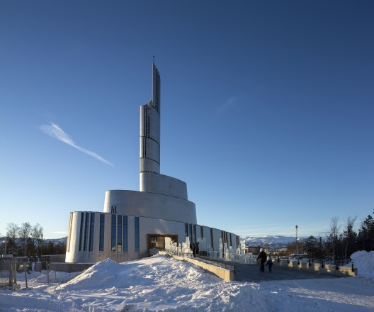 Cathedral of the Northern Lights / SHL Architects + LINK arkitektur ; Photo © Adam Mørk