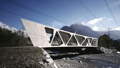 Alfenz Bridge / marte.marte Architekten