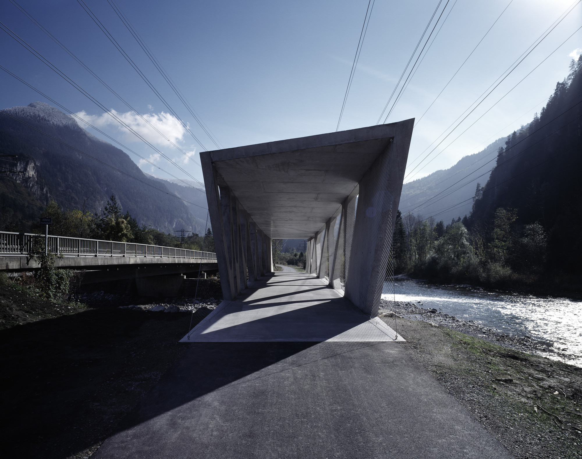 Alfenz Bridge / Marte Marte Architects