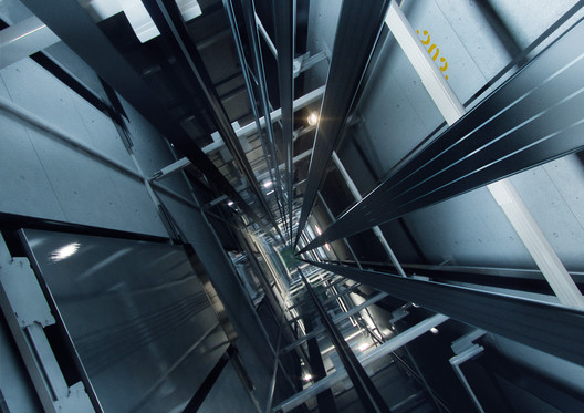 KONE UltraRope Elevator Shaft