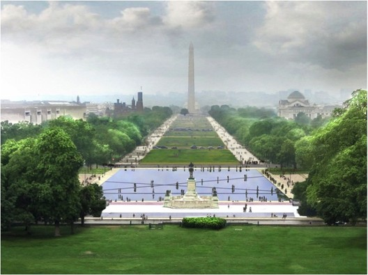 National Mall Design Winning Proposal / Gustafson Guthrie Nichol + Davis Brody Bond