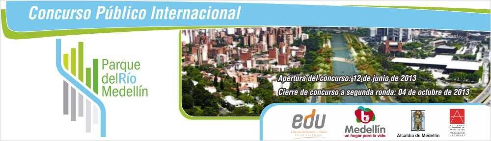 Concurso Internacional: Parque del Río Medellín